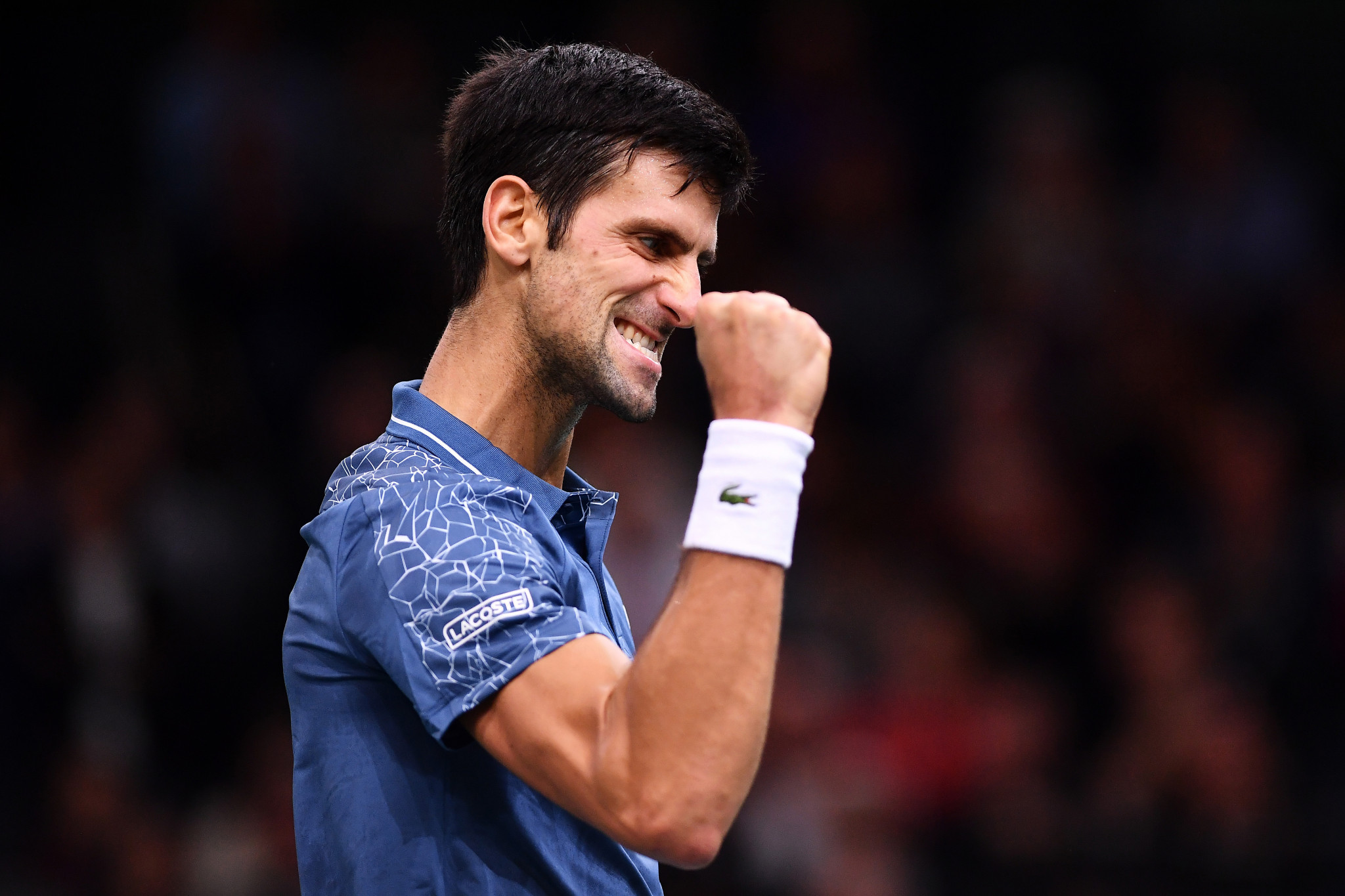 """Djokovic wins """"spectacular"""" match against Federer to earn Paris Masters final meeting with Khachanov"""
