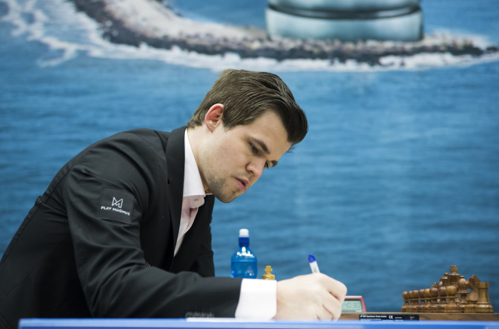 Norway's 27-year-old world chess champion Magnus Carlsen will defend his title in London this month against US challenger Fabiano Caruana in a match that starts on Friday ©Getty Images