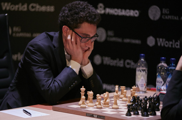 Fabiano Caruana is the first American challenger to the undisputed World Chess Championship since Bobby Fischer in 1972 ©Getty Images