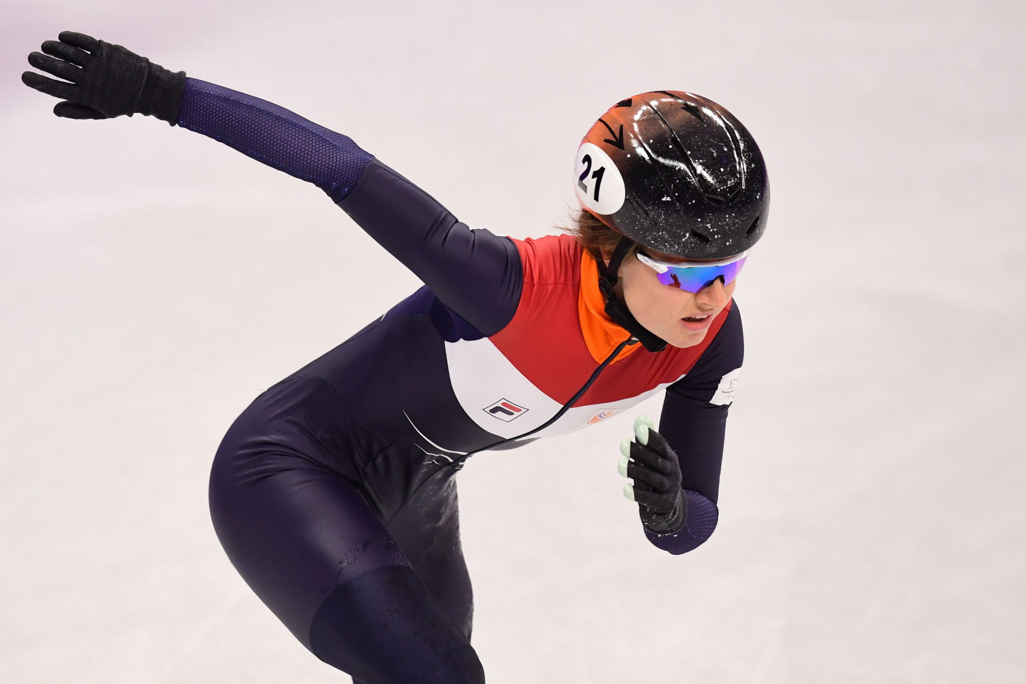 Yara van Kerkhof clinched an emotional medal for The Netherlands ©Getty Images