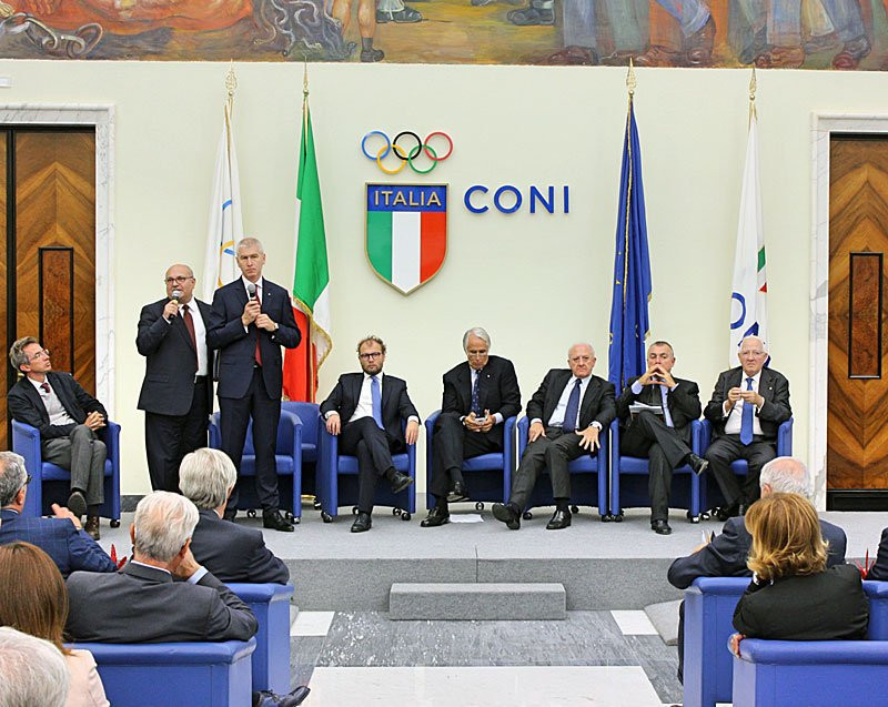The Italian National Olympic Committee were in attendance at a meting between Italian sport federations and the 2019 Summer Universiade in Naples ©EUSA