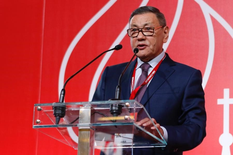 "Gafur Rakhimov has said his election as International Boxing Federation President is an ""important step forward"" ©AIBA"