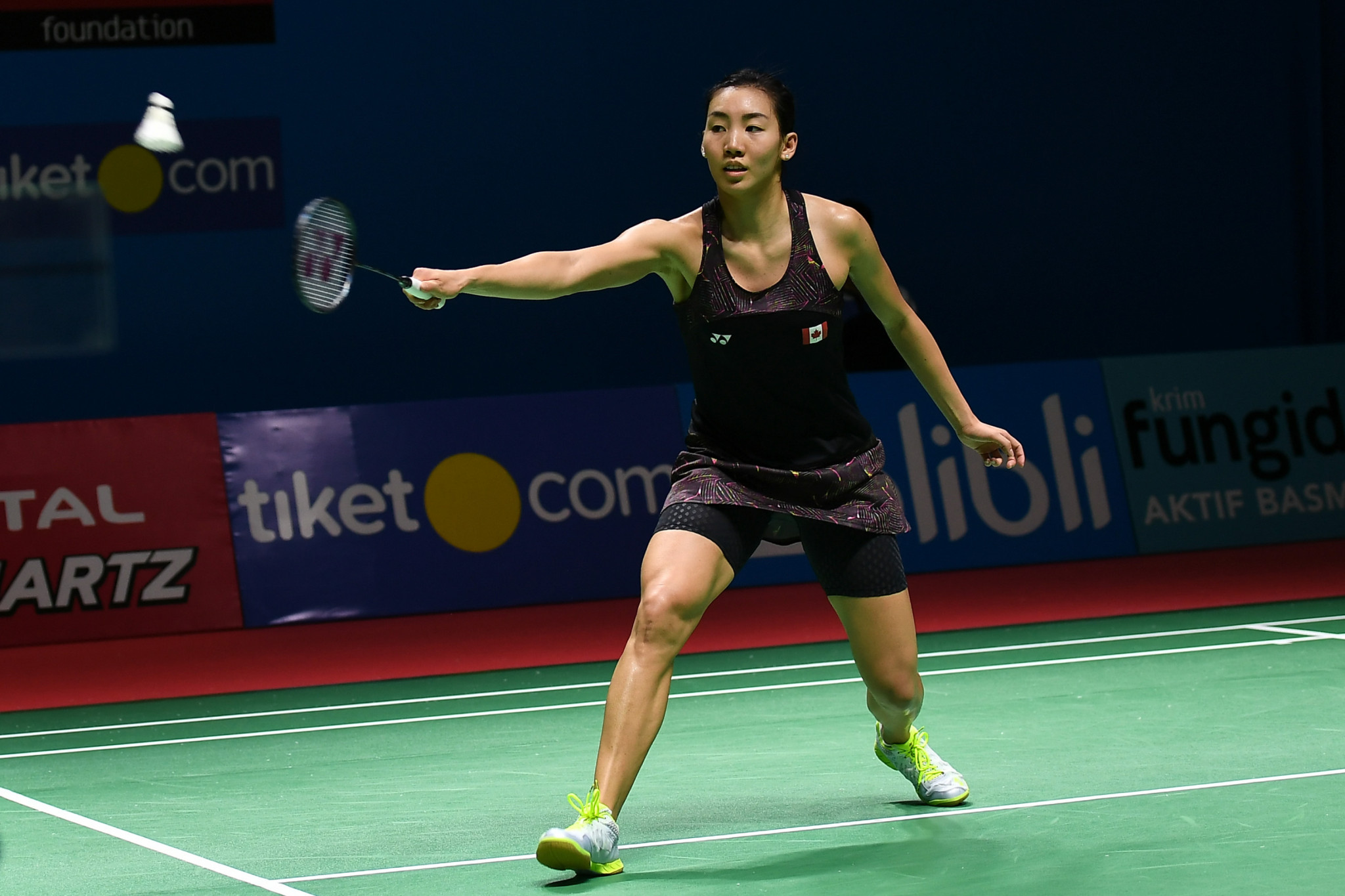 Canada's top seed Michelle Li won the BWF Macau Open title ©Getty Images