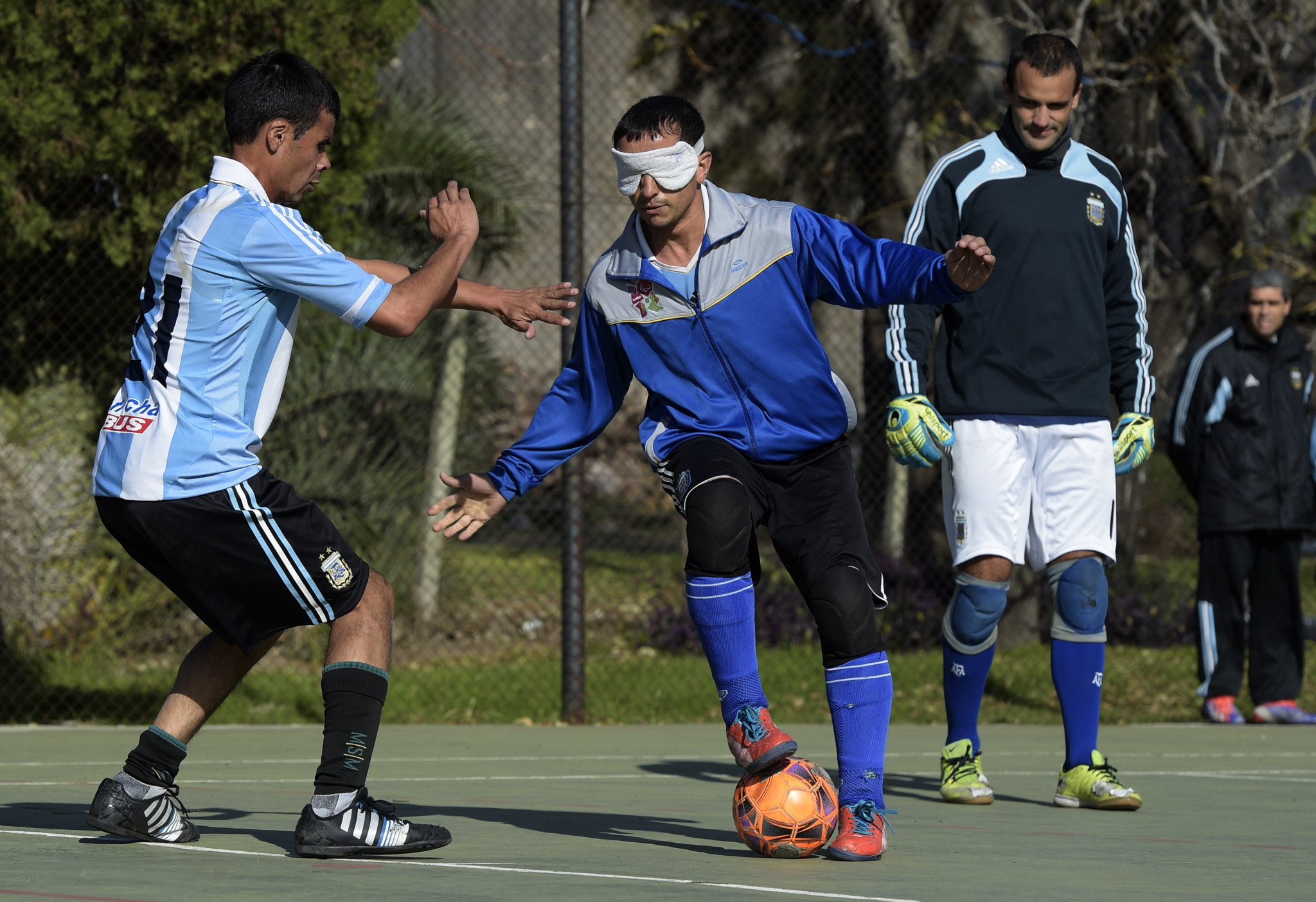 University of Chichester selected to lead blind football research