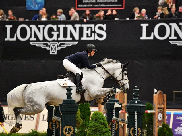 Beezie Madden claimed a second victory in as many weekends as the International Equestrian Federation Jumping World Cup season continued in Lexington ©FEI