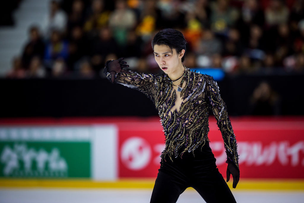 Hanyu makes good on world record short programme to take men's gold at ISU Helsinki Grand Prix