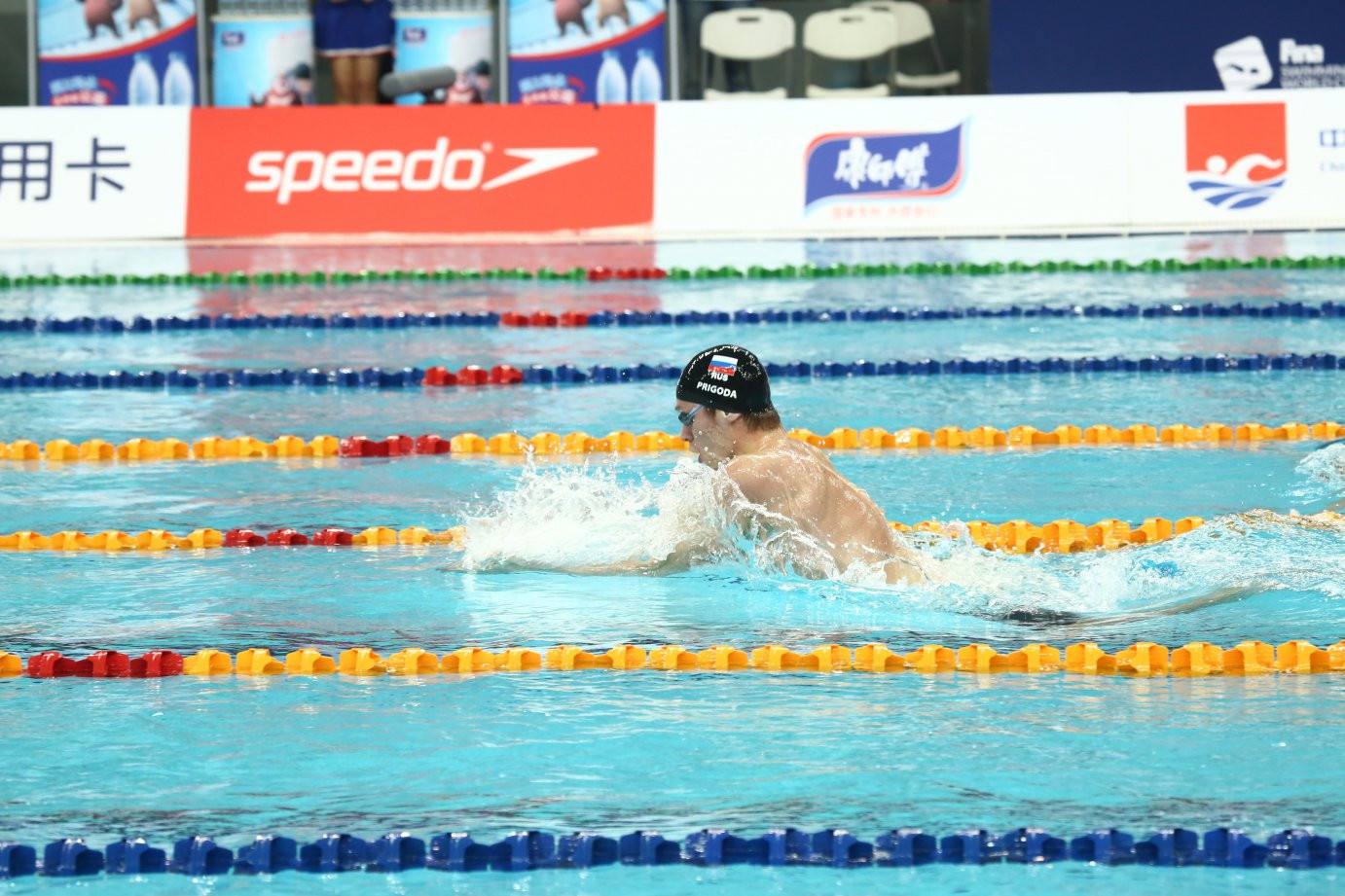 More gold for Hosszu and Morozov as Beijing's Swimming World Cup ends in Water Cube that will soon be an Ice Cube