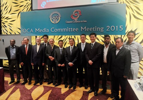 The OCA Media Committee meeting took place in Macau, China ©OCA