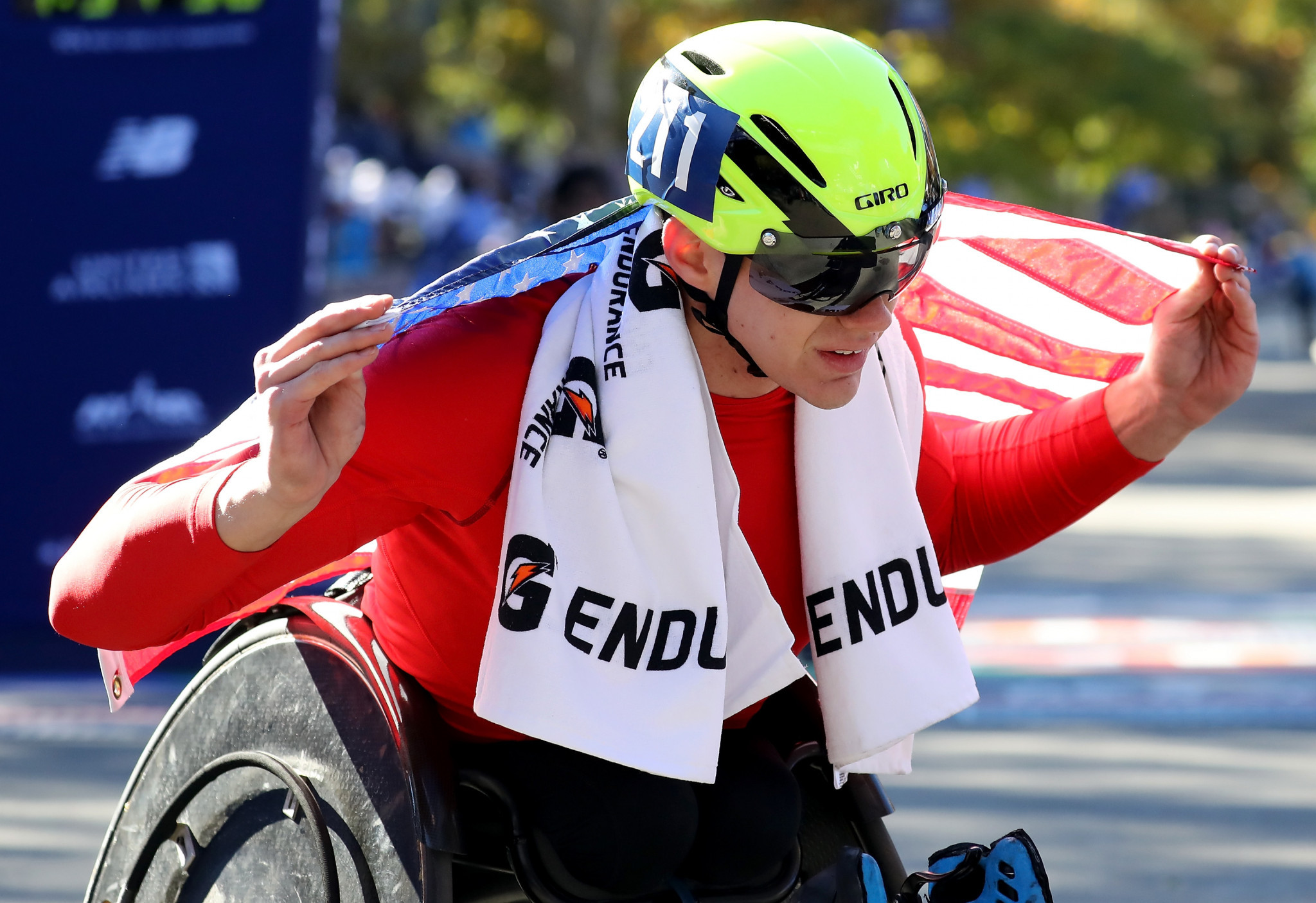 Romanchuk becomes first-ever American to win men's wheelchair crown at New York City Marathon