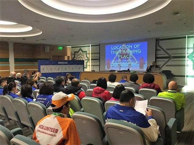 IWF uses Education Seminar to stress importance of athletes logging whereabouts on ADAMS