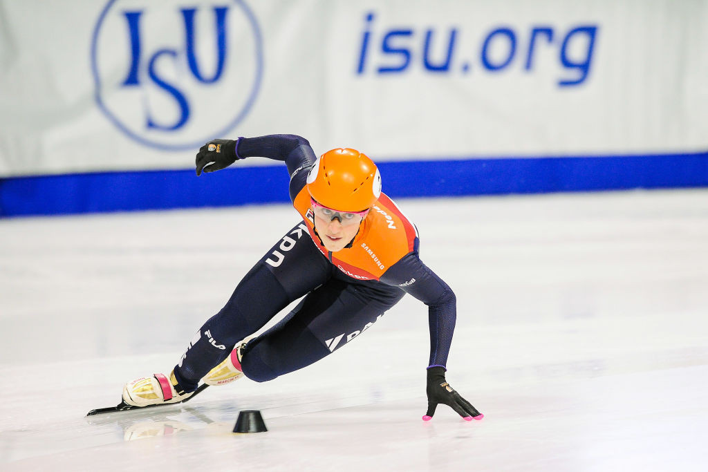 Suzanne Schulting led a successful World Cup event for the Dutch ©ISU