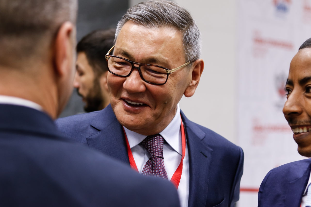 Gafur Rakhimov was elected AIBA President in November, against the wishes of the IOC ©AIBA
