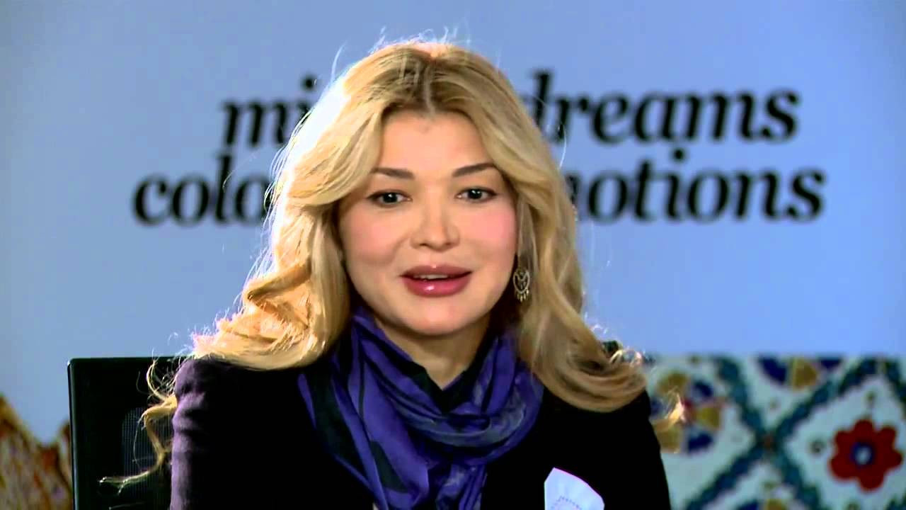 Gulnara Karimova, the daughter of Uzbekistan's former President, was behind a campaign to discredit Gafur Rakhimov, it has been claimed ©YouTube