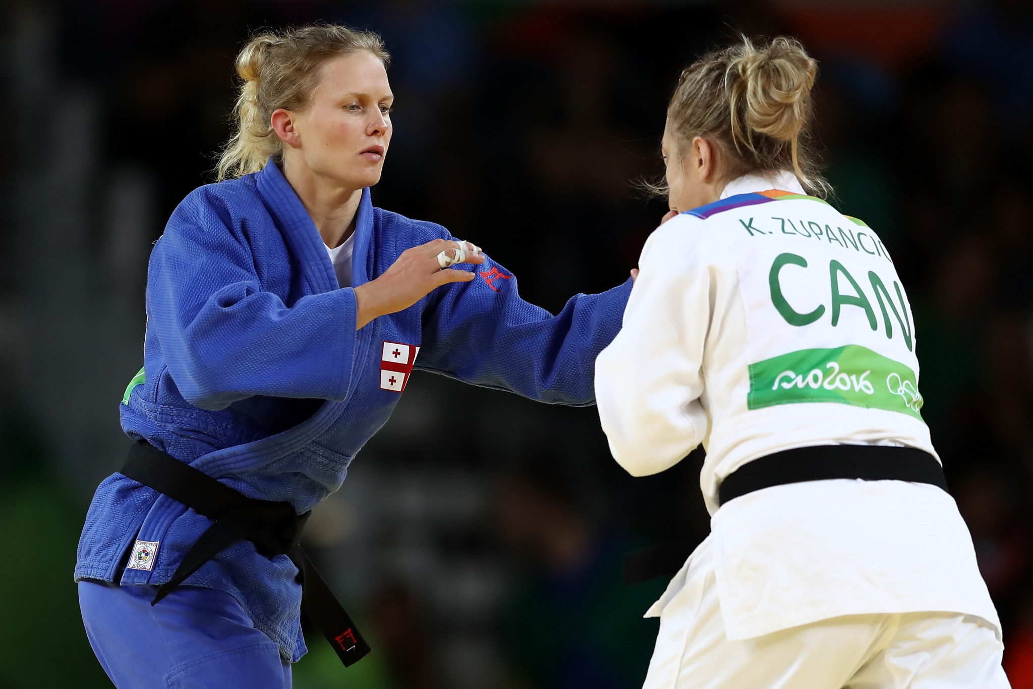 Judo Olympian Esther Stam of Georgia will commentate on the IBSA 2018 Judo World Championships ©Getty Images