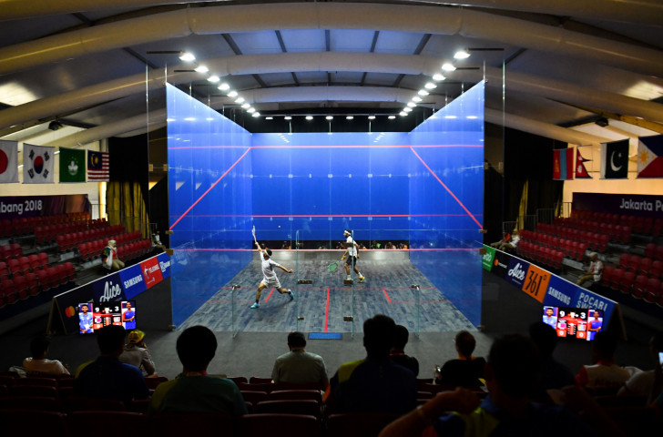 The World Squash Federation is looking forward to a new partnership with technology experts Club Locker ©Getty Images