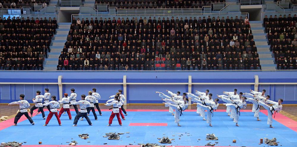 World Taekwondo and International Taekwondo Federation showcase sends message of peace in Pyongyang