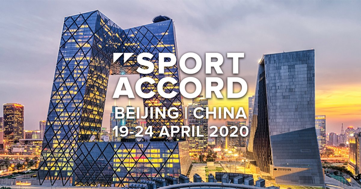 Beijing named host of SportAccord in 2020