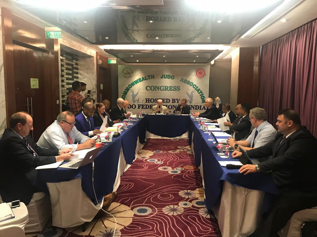 The Commonwealth Judo Association Congress meeting in Jaipur on the day before competition gets underway in the Championships elected Malta's Envic Galea as its new vice-president ©CJA