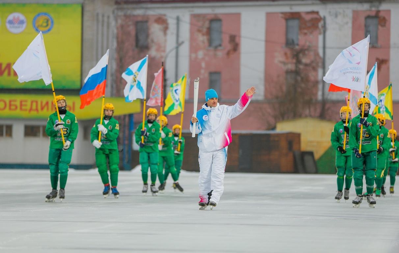 Arkhangelsk hosts leg of Krasnoyarsk 2019 Universiade Torch Relay
