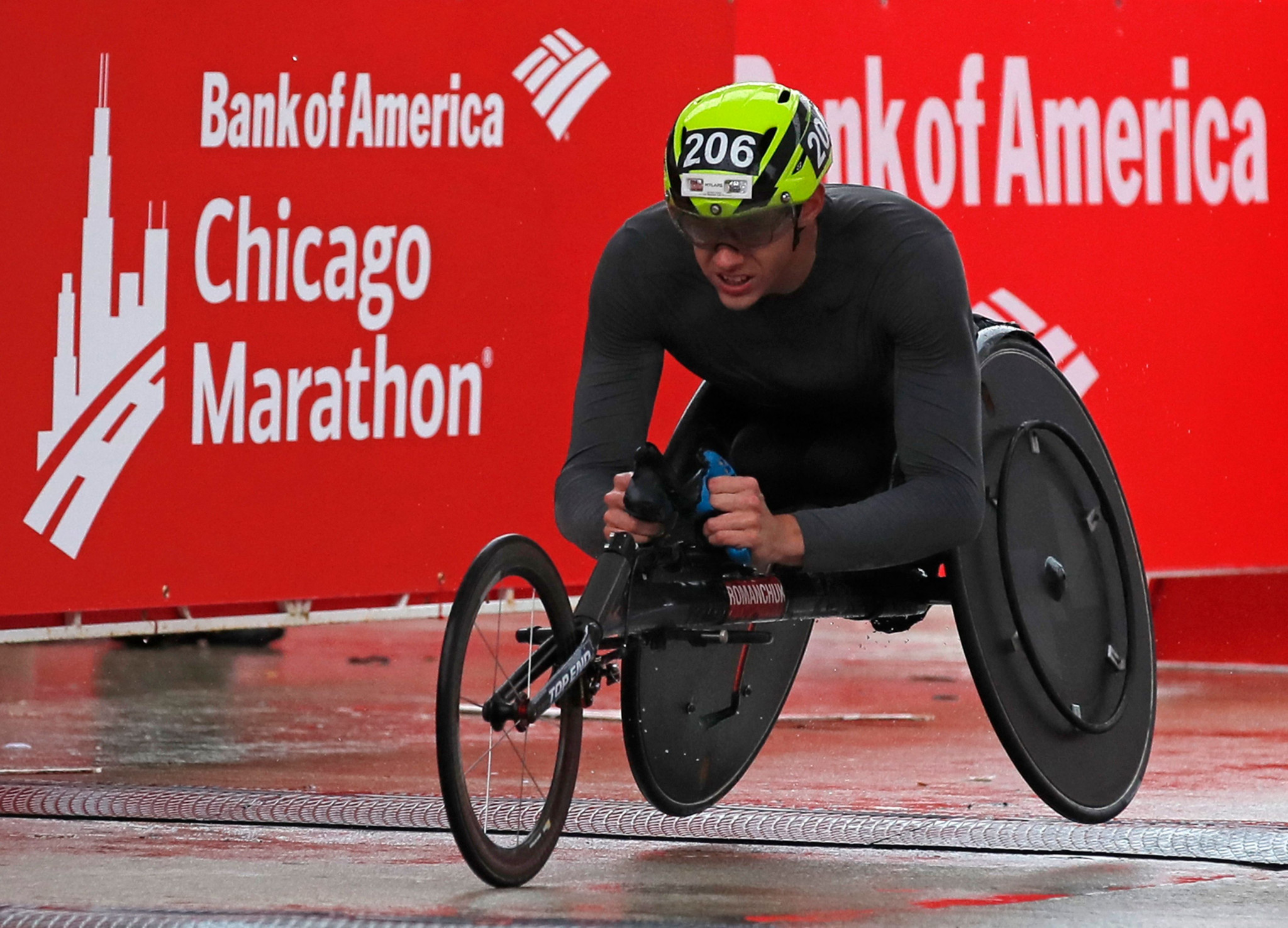 America's Daniel Romanchuk features on the shortlist having captured his first major marathon victory in Chicago ©Getty Images