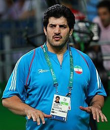 Rasoul Khadem has resigned as Iranian Wrestling Federation President for the second time this year ©Wikipedia