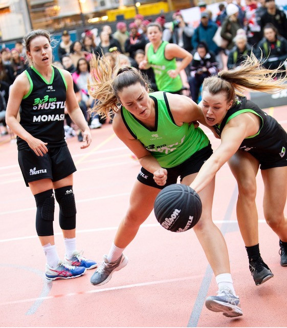 There will be 16 women's teams battling it out to win he FISU 3x3 World University League Finals ©FISU