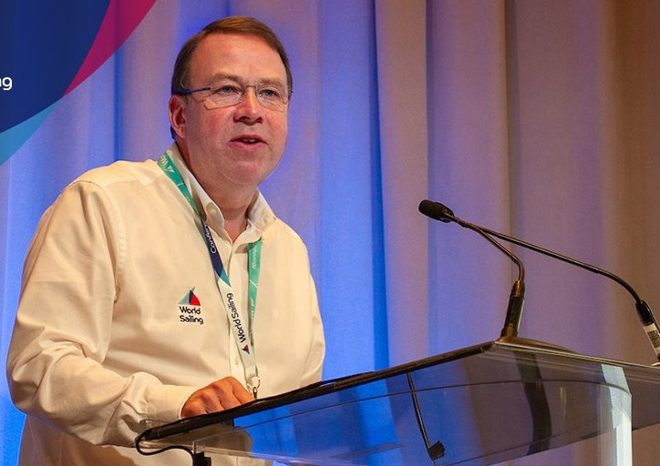 World Sailing chief executive Andy Hunt has encouraged International Federations to develop an esport strategy ©World Sailing