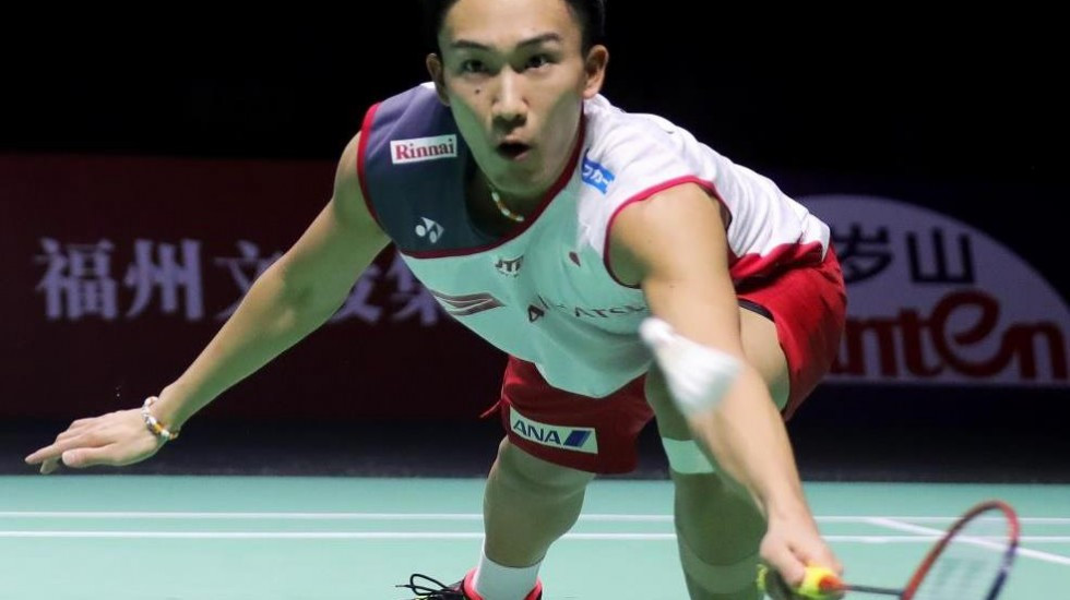 Top seed Momota overcomes double Olympic champion Lin on day one of BWF Fuzhou China Open
