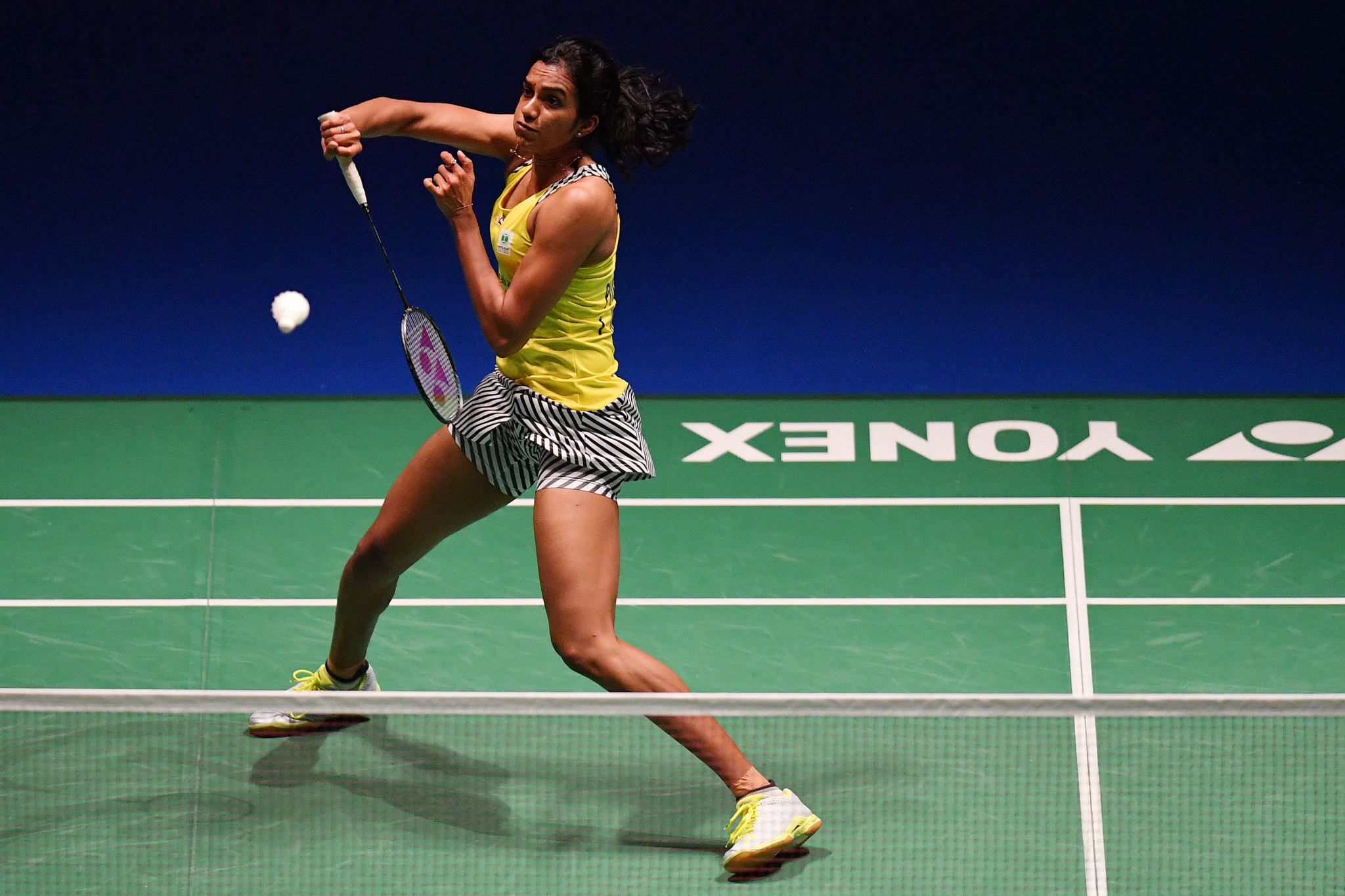 India's PV Sindhu was among those to progress to the second round of the women's singles event ©Getty Images