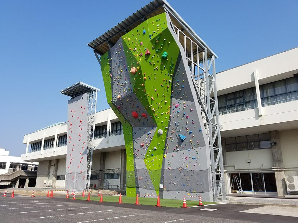 The Kurayoshi Sport Climbing Center will play host to the event ©Climbing Asian Championships 2018/Facebook