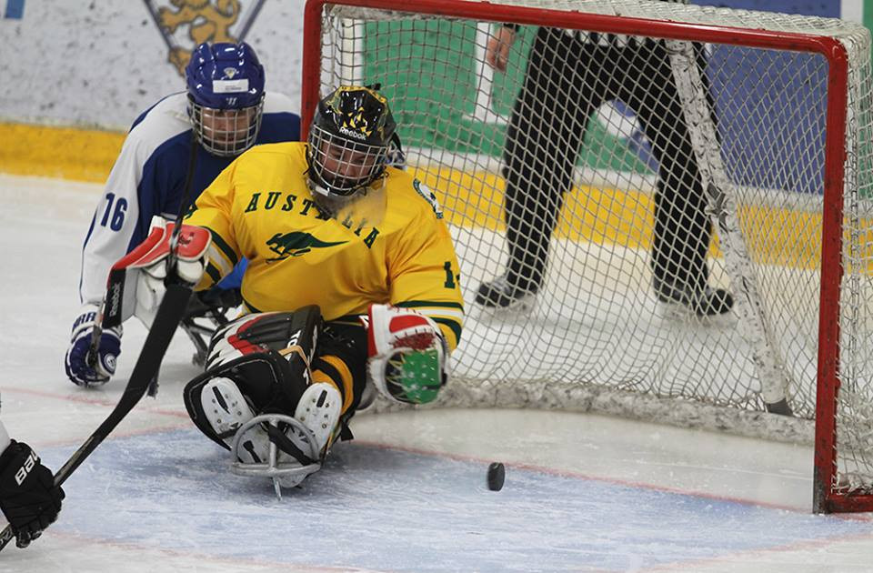Hosts Finland beat newcomers Australia at World Para Ice