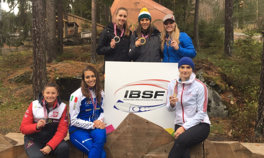 Australian slides to victory at first IBSF women's monobob event