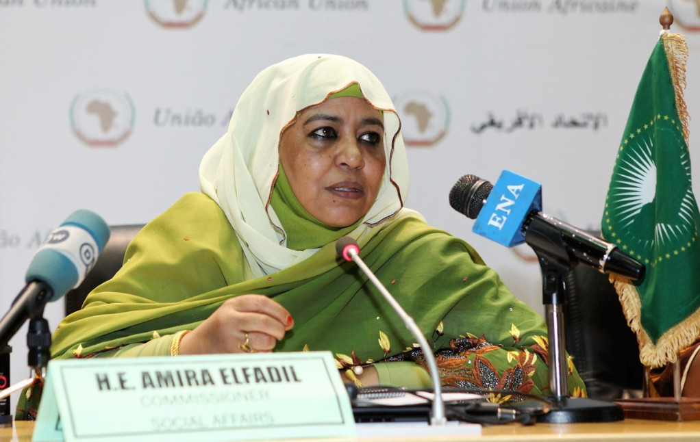 Sudan's Amira El Fadil Mohamed El Fadil appears to fulfill all the criteria to become new President of the World Anti-Doping Agency but would be an acceptable candidate to the rest of the world? ©African Union