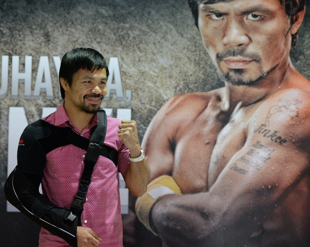 Eight-weight world champion Manny Pacquiao to attend 2015 AIBA World Boxing Championships