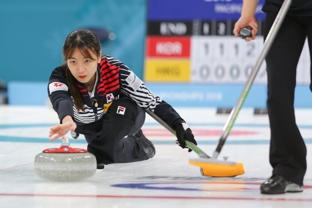 South Korea reach men's and women's semi-finals at home Pacific-Asia Curling Championships