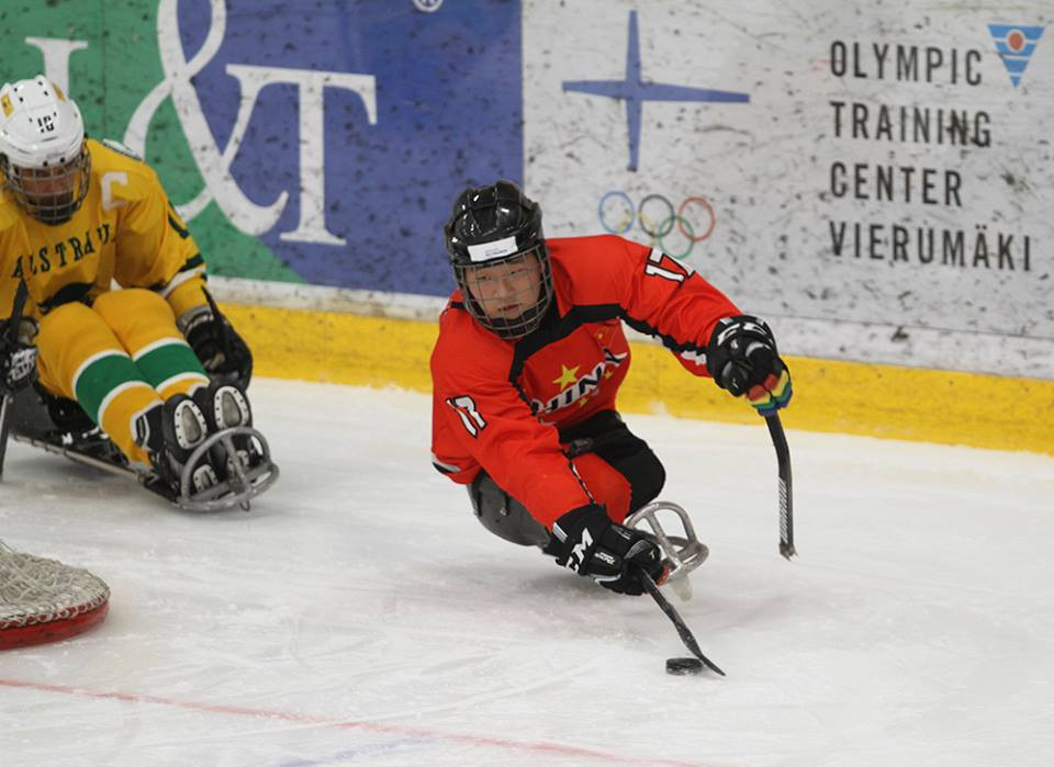 China ease to 40-0 debut win at World Para Ice Hockey Championships C-Pool