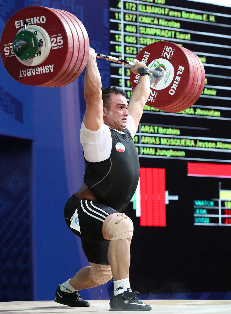 Moradi steals show on day seven of 2018 IWF World Championships