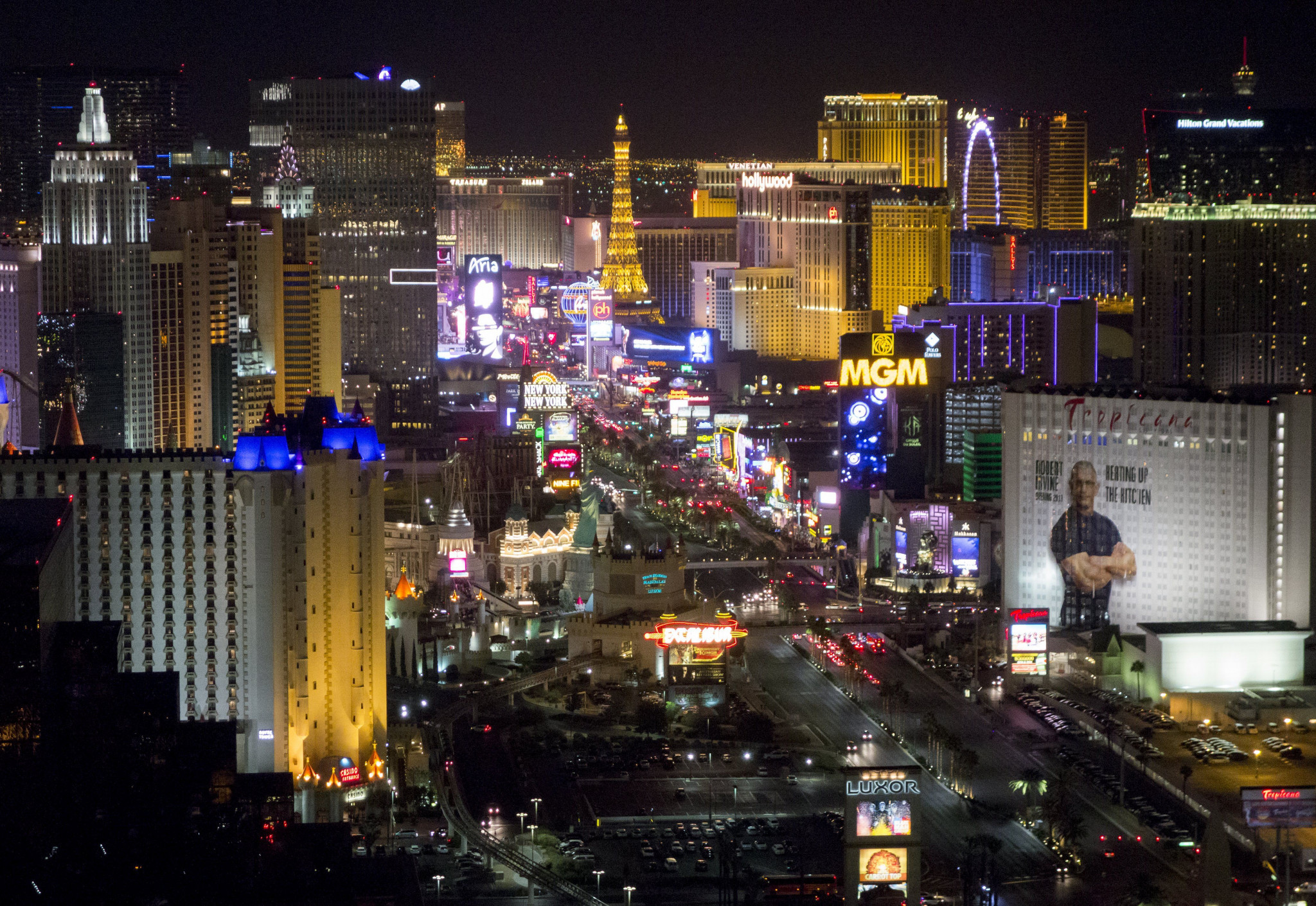 Las Vegas benefited economically and socially from hosting this year's World Men's Curling Championships, an economic impact study has claimed ©Getty Images