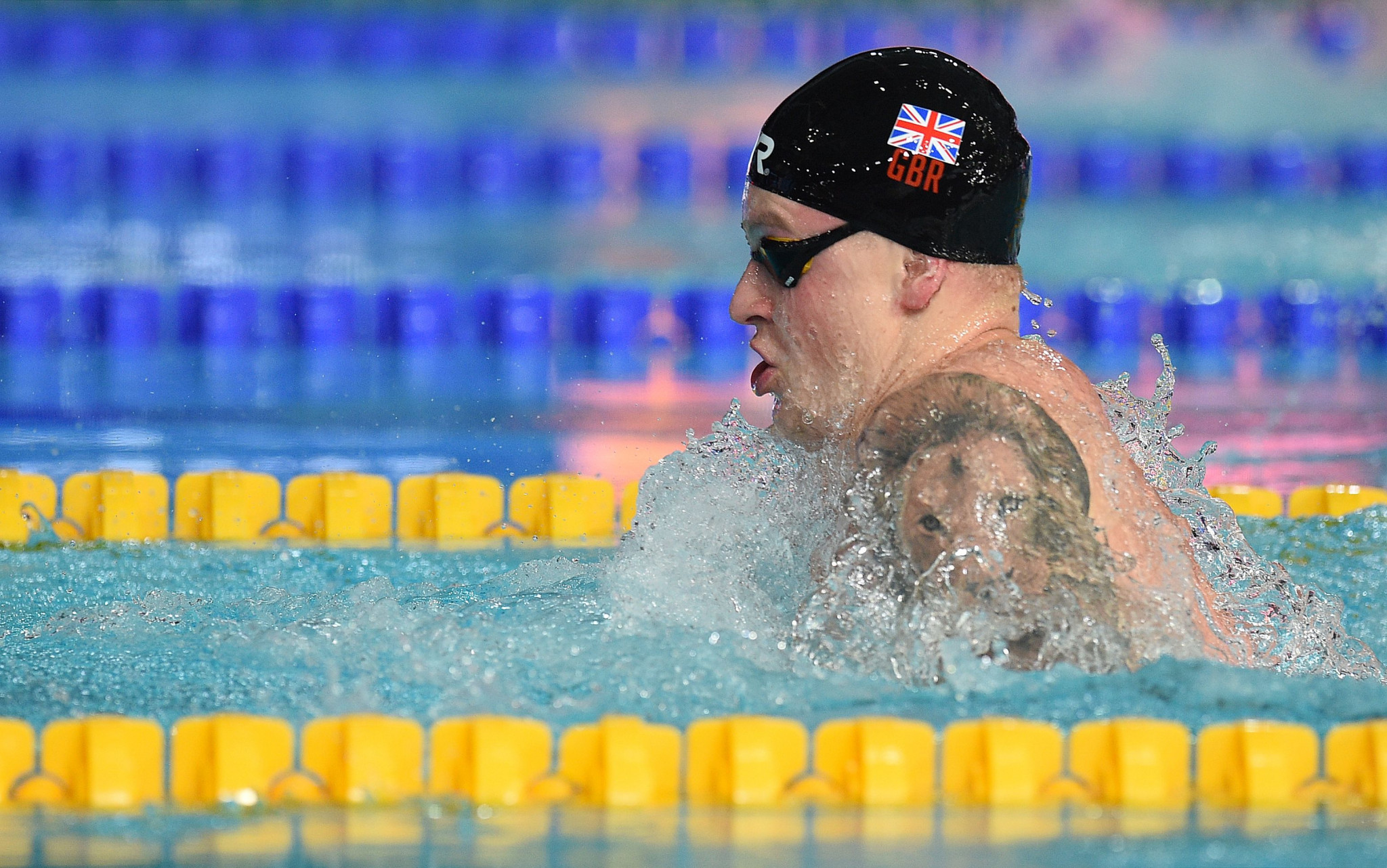 Britain's Adam Peaty is among the high profile athletes expected to take part in Turin ©Getty Images