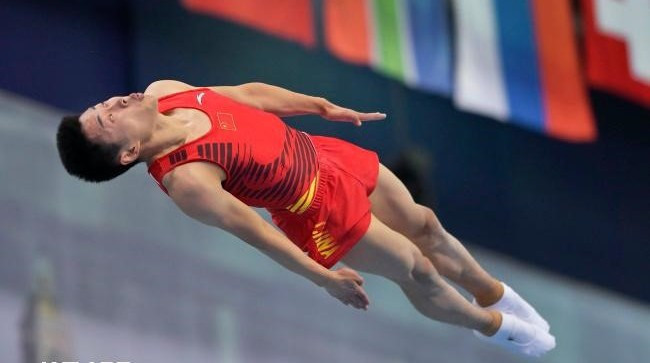China and Russia dominated the qualifying rounds of the FIG Trampoline Gymnastics World Championships ©FIG