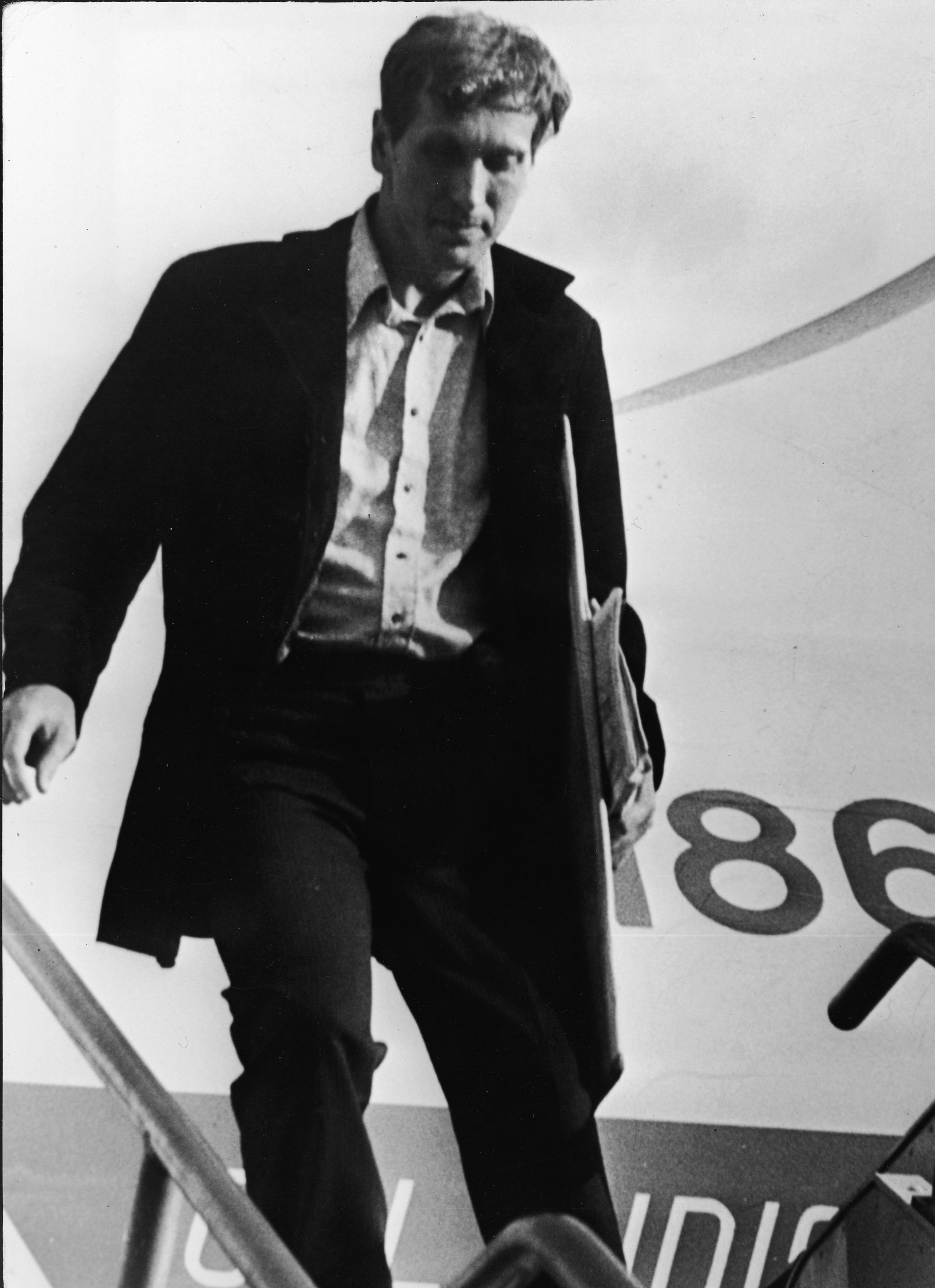 US chess player Bobby Fischer, a troubled genius, arrives in Reykjavik in 1972 for what would be the best remembered world title challenge in history against Boris Spassky of the Soviet Union ©Getty Images
