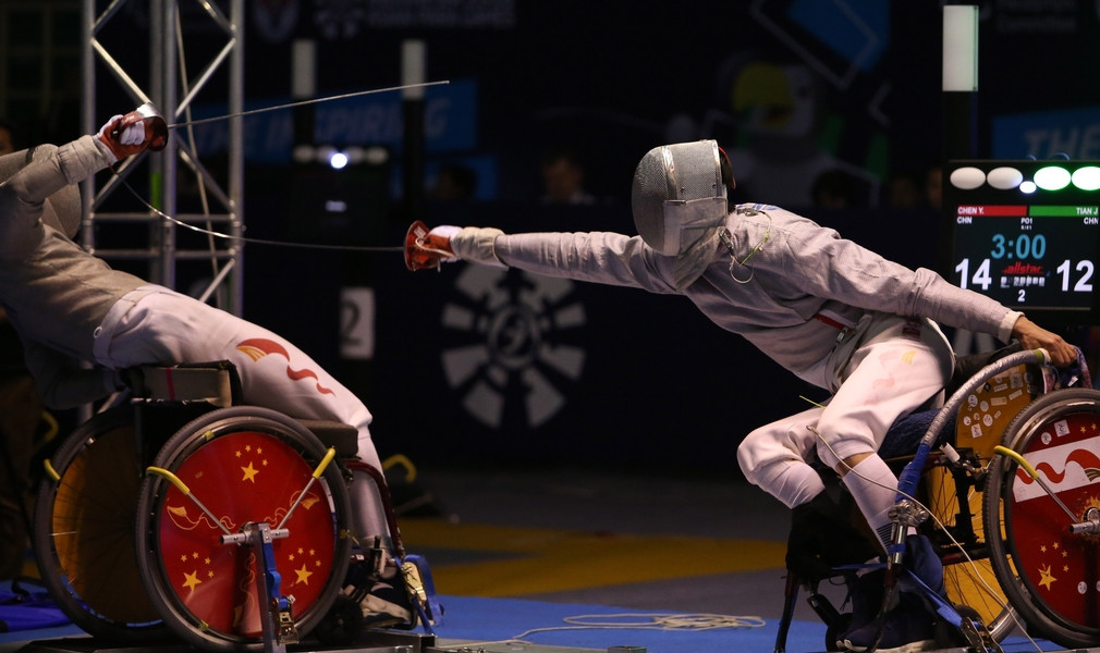 Tokyo 2020 qualification to begin at IWAS Wheelchair Fencing World Cup