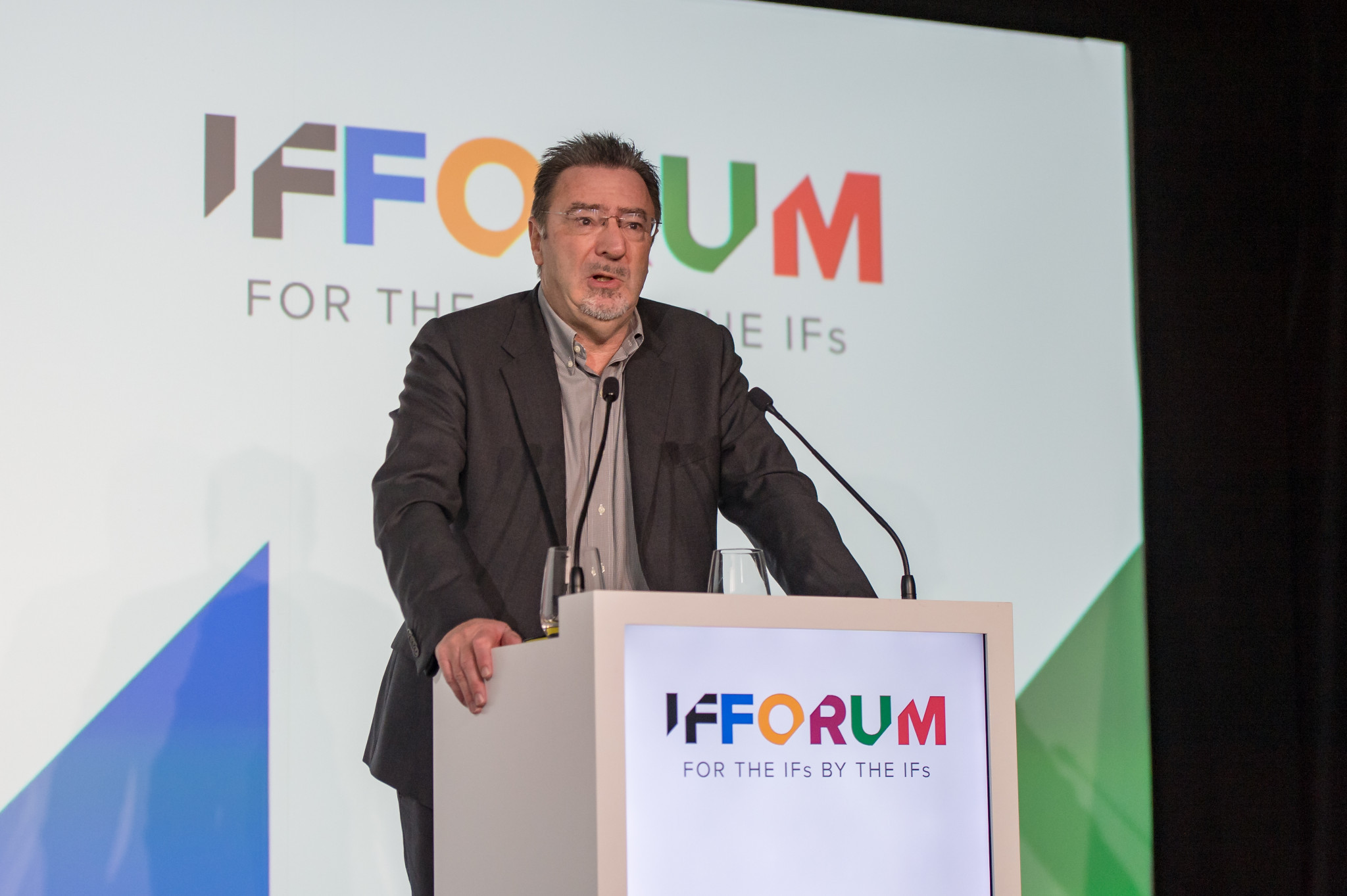 ASOIF executive director Andrew Ryan was among the speakers ©SportAccord