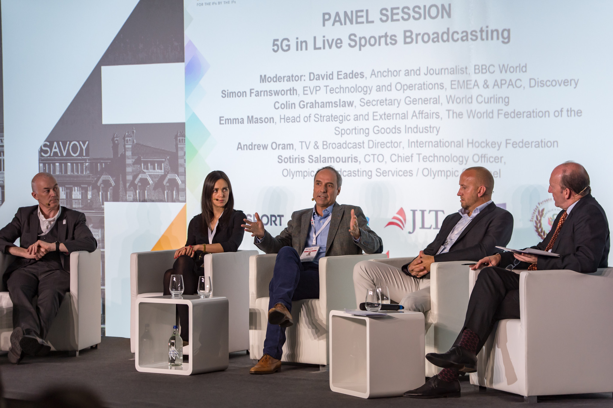 The latest advances in broadcasting were among topics discussed at the IF Forum ©SportAccord