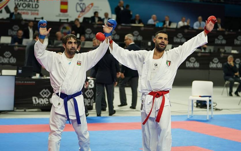 All five defending champions exit Karate World Championships as underdog has its day