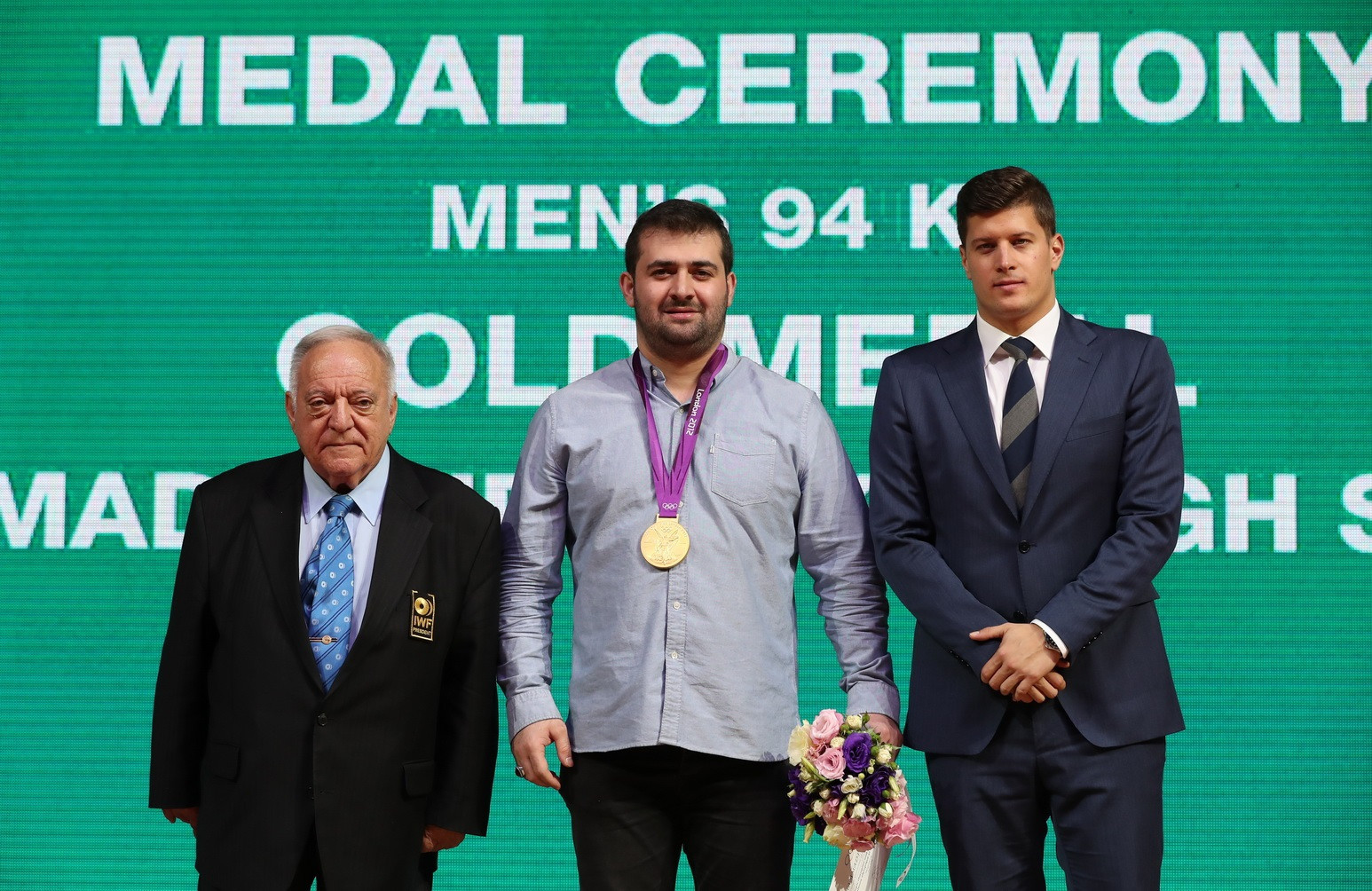 Iranian weightlifter Mohammadpour receives retrospective gold medal from notorious London 2012 men's 94kg category