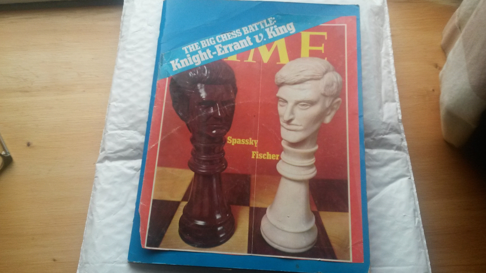 How Time viewed the impending chess