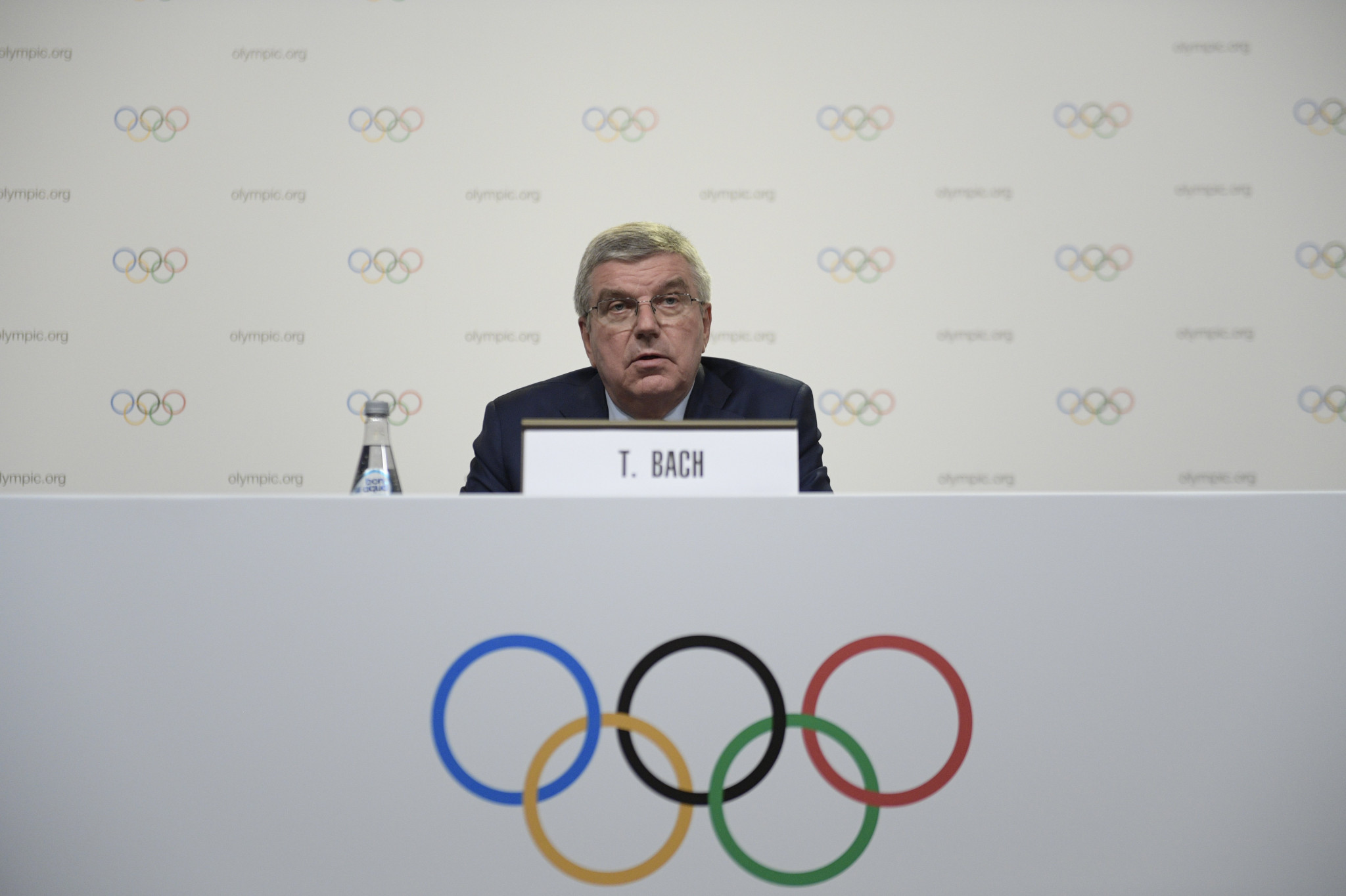Bach talks up Milan-Cortina d'Ampezzo chances of winning 2026 Winter Olympic and Paralympic race