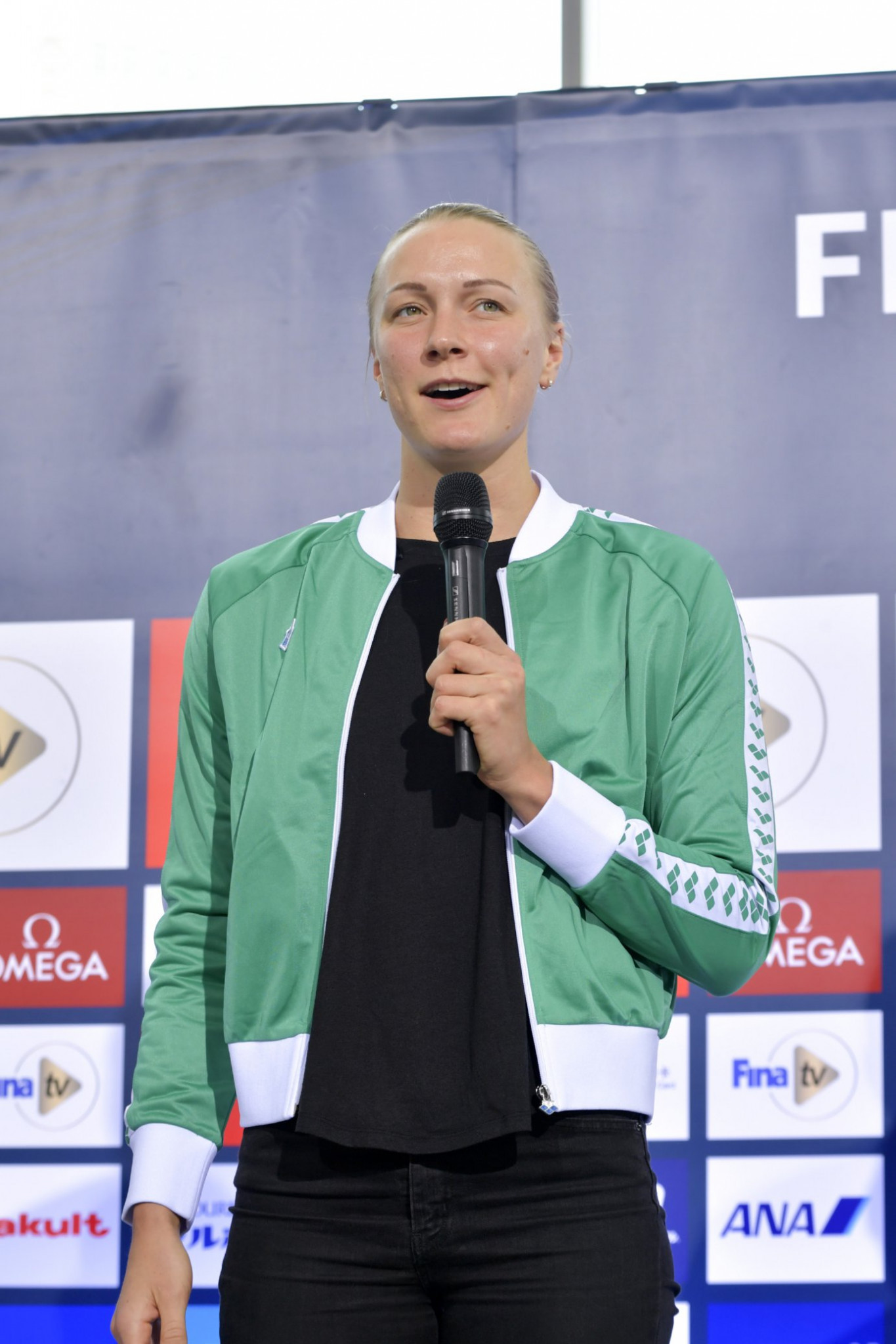 Sweden's Swimming World Cup leader Sarah Sjostrum is ready to go faster than ever in Tokyo ©FINA