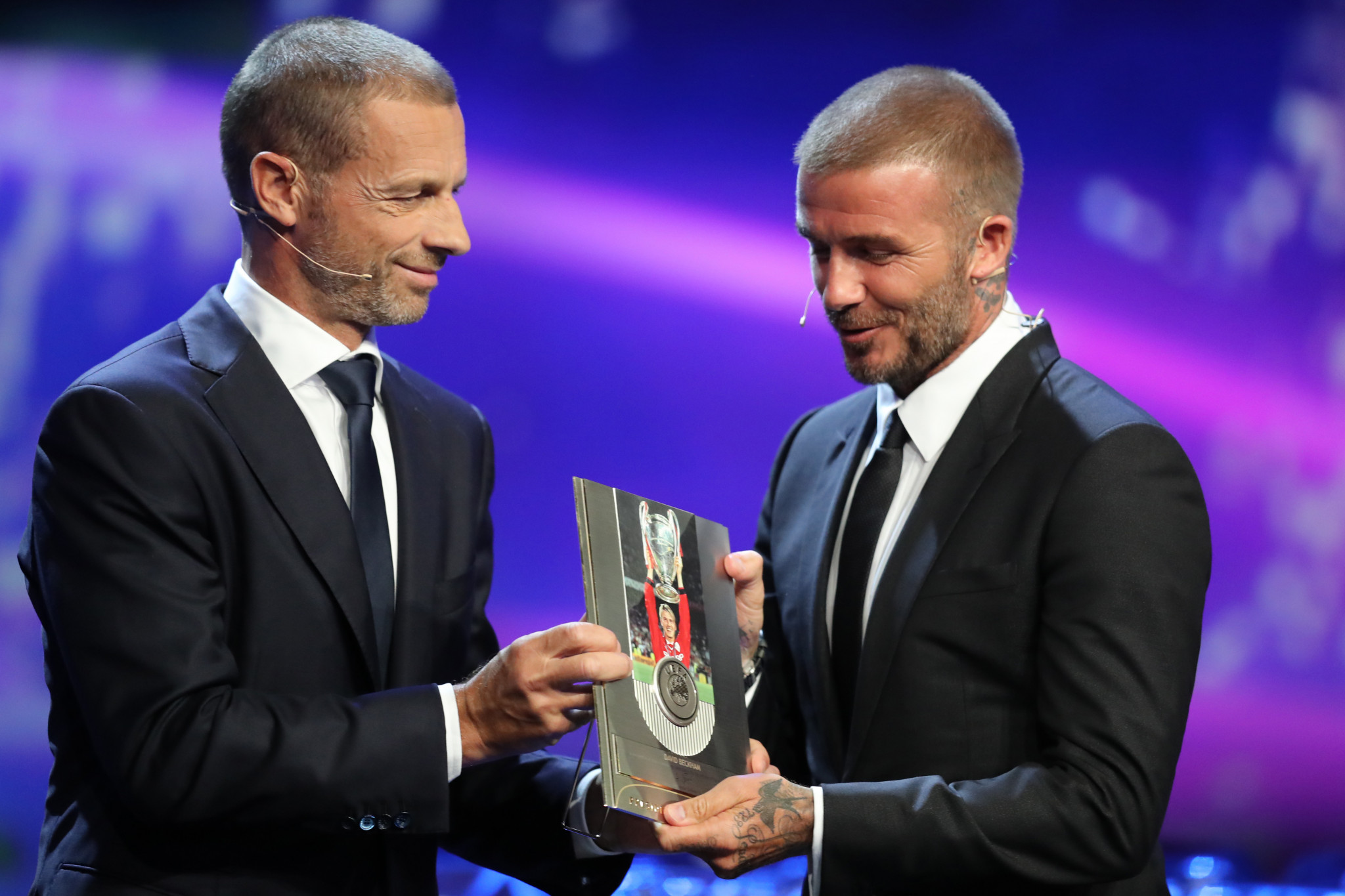 Aleksander Čeferin is the only candidate in the running for UEFA President ©Getty Images